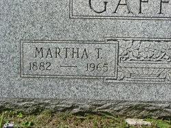 Sarah Martha Mattie <i>Tolle</i> Gaffin