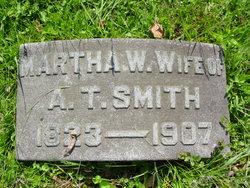 Martha W <i>Garland</i> Smith