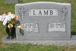 Ernest Raymond Lamb