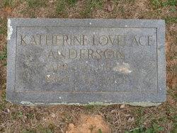 Katherine <i>Lovelace</i> Anderson