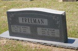 M E Bessie <i>Merrell</i> Freeman
