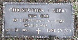 Christopher J Auert