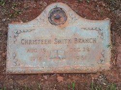 Christeen Christine <i>Smith</i> Branch