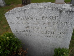 Barbara J <i>Creighton</i> Baker