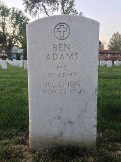 PFC Ben Adams