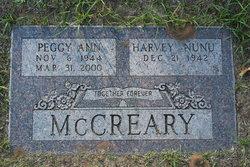 Peggy Ann <i>Walker</i> McCreary
