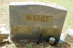 Mary Carline <i>Richardson</i> McGhee
