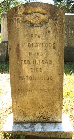 Rev Benjamin Franklin Blaylock