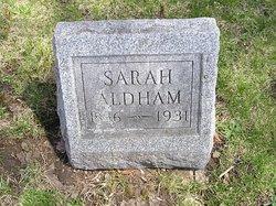 Sarah <i>Hubbard</i> Aldham