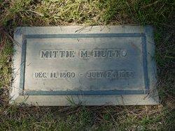 Mittie Maude <i>Woods</i> Hutto