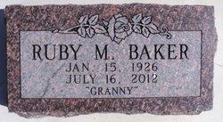 Ruby Margret <i>Rauch</i> Baker