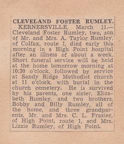 Cleveland Foster Rumley