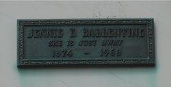 Jennie Elizabeth <i>Blanck</i> Ballentine