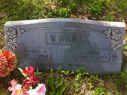 Thomas F Webb
