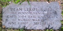 Capt Dean Leroy Robb