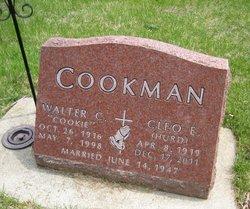 Walter C Cookie Cookman