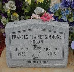 Frances Elaine Laine <i>Simmons</i> Hogan