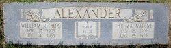 William R Alexander