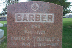 Elizabeth J. <i>Poynter</i> Barber