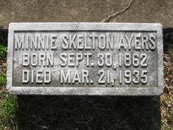 Minnie W <i>Skelton</i> Ayers