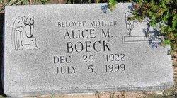 Alice M. Boeck