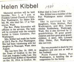 Helen J. <i>Last</i> Kibbel