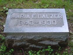 Marie Eva <i>Heitz</i> Balzer