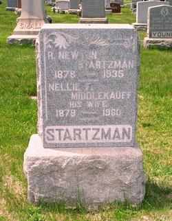 Nellie F <i>Middlekauff</i> Startzman