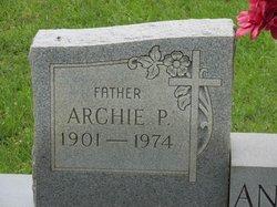 Archie P Anderson