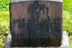 Anna D Auckland