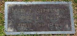 John L Alderman