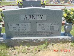 Verna J. <i>Latham</i> Abney