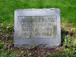 PFC Lansing Jessie Fonda