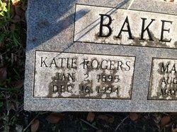 Katie <i>Rogers</i> Baker