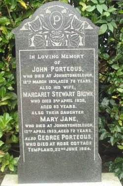 Mary Jane Porteous