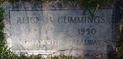 Alice H <i>Gorman</i> Cummings