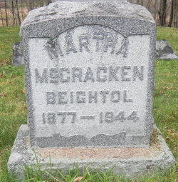 Martha <i>McCracken</i> Beightol