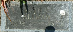Ruth E. <i>Engelking</i> Allman