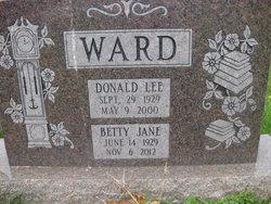 Betty Jane <i>Nemec</i> Ward