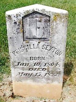 Priscilla <i>Hodge</i> Sexton