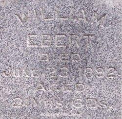 William Ebert