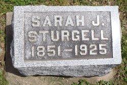 Sarah Jane <i>Borders</i> Sturgell