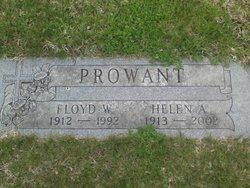 Helen A <i>Strouse</i> Prowant