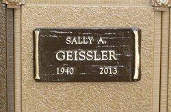 Sally <i>Andrews</i> Geissler