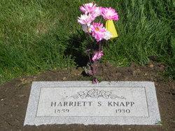 Harriett Sophronia <i>McCrea</i> Knapp