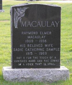 Sadie Catherine <i>Sample</i> Macaulay