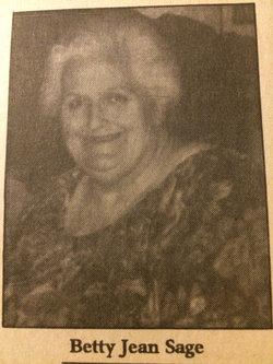 Betty Jean <i>Campbell</i> Sage