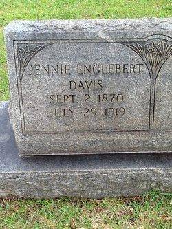 Jennie <i>Englebert</i> Davis