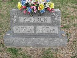 Sherman D Adcock