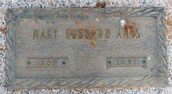 Mary <i>Hubbard</i> Amos